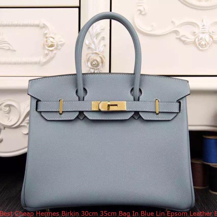 Best Cheap Hermes Birkin 30cm 35cm Bag In Blue Lin Epsom Leather ... 878c9507a694d